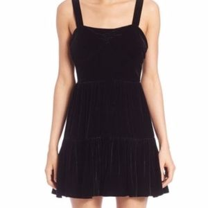 McQ Alexander McQueen Velvet Dress NWOT